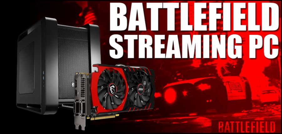 $1244 Battlefield Hardline Gaming & Streaming PC Build - March, 2015