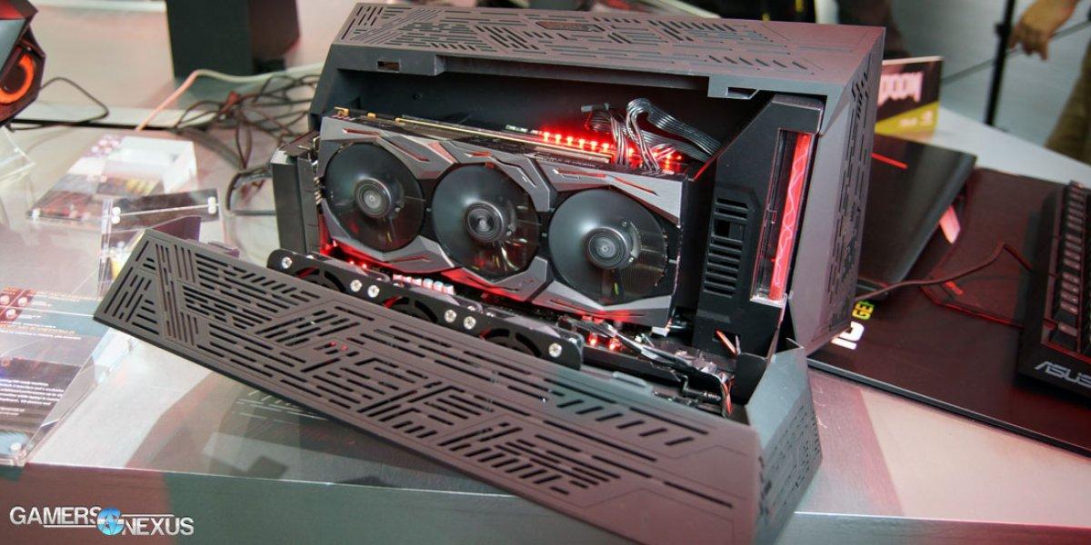 ASUS GTX 1080 Strix Hands-On: 8+2 VRM, Case Fan Controls