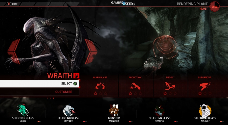 Evolve Hands-On Impressions - Wraith Gameplay, Evacuation Singleplayer, & Beta Dated