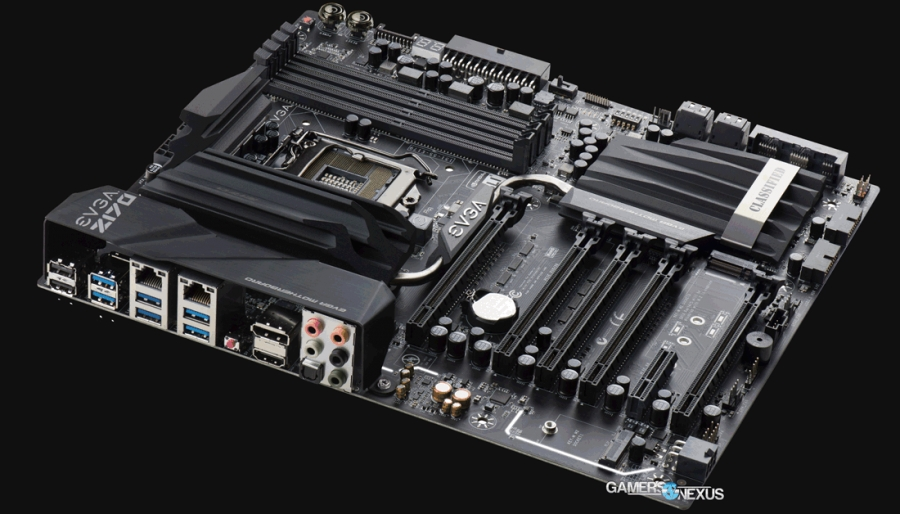 New Shots of EVGA Z170 Boards Reveal Rear I/O