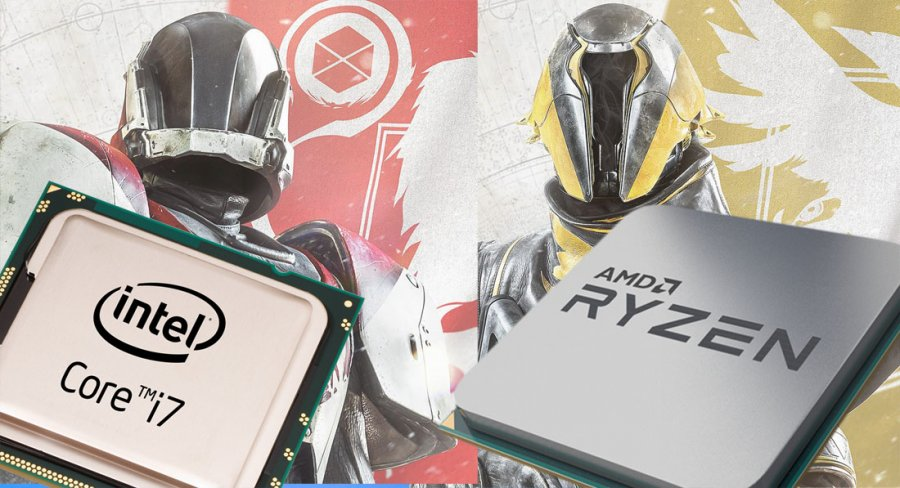Destiny 2 Launch CPU Benchmark: Ryzen, Kaby Lake, & 8350K
