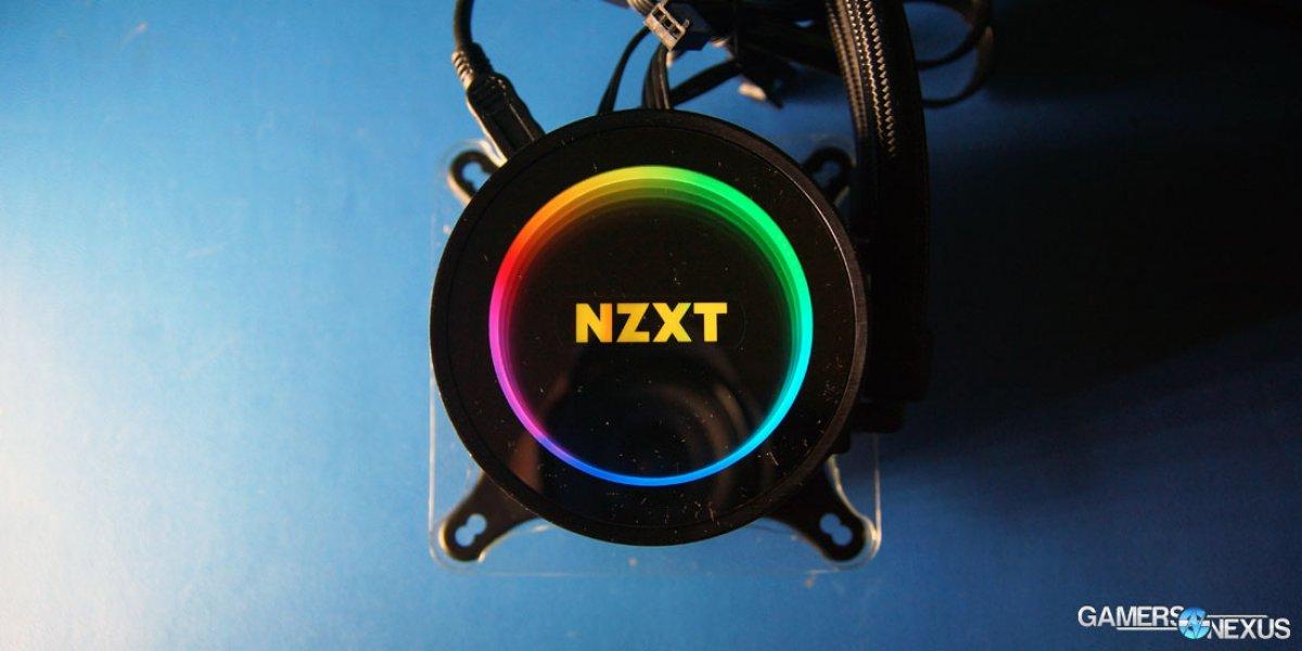 NZXT Kraken X52, X62, & X42 Review & Benchmarks vs  H100iV2