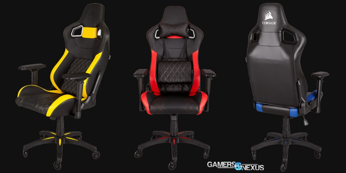 Corsair T1 Race Chair Released For 350 Gamersnexus
