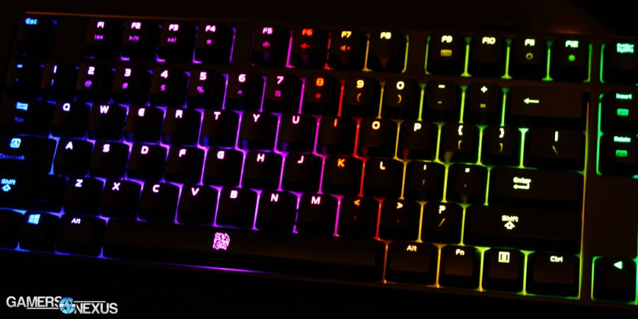 Tear-Down & Review of Tt eSports Poseidon Z RGB Mechanical Keyboard