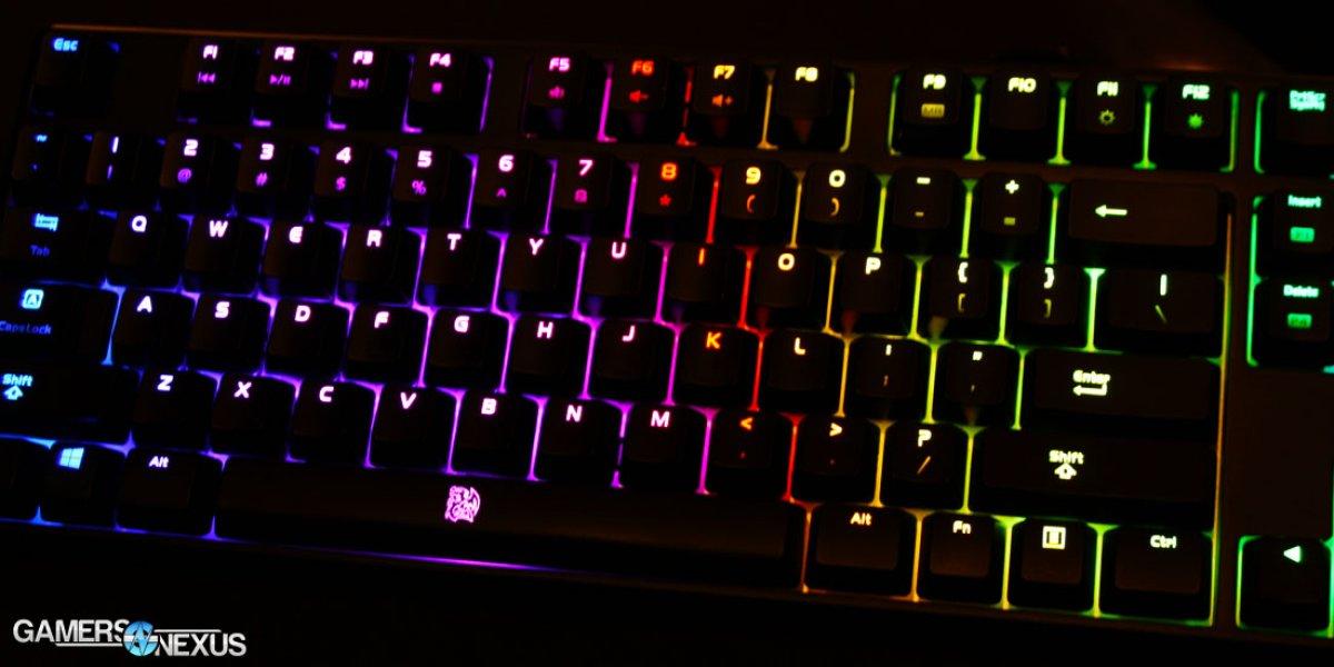 Tear-Down & Review of Tt eSports Poseidon Z RGB Mechanical