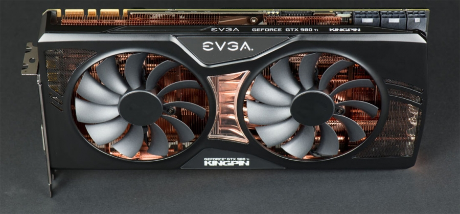 EVGA's Overclocking K|NGP|N GTX 980 Ti Pictured