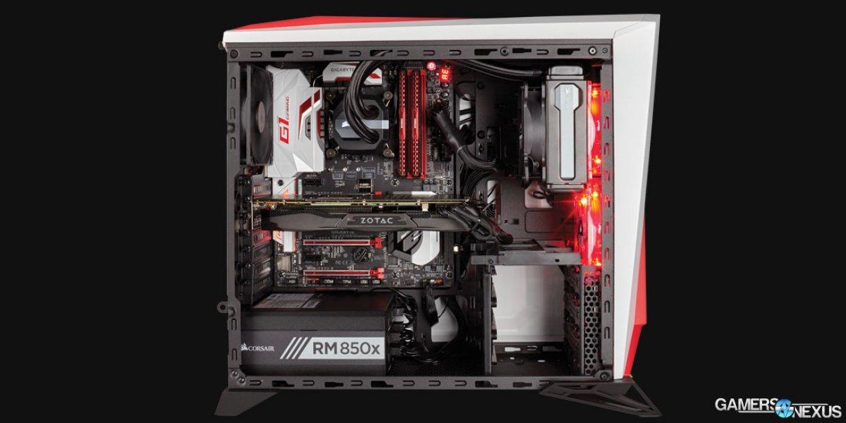 various colors 7e525 42247 Corsair Reveals Spec-Alpha Case & Specs | GamersNexus - Gaming PC ...