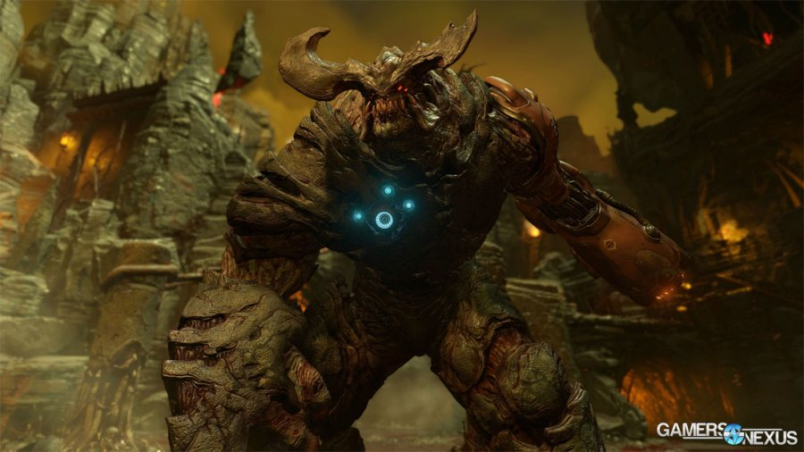 DOOM Vulkan vs. OpenGL Benchmark – RX 480 Posts 30% Increase, GTX 1080 Mixed