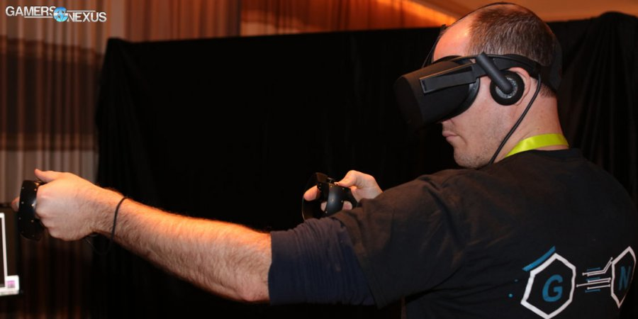 Hands-On with New HTC Vive vs. Oculus Rift at CES 2016