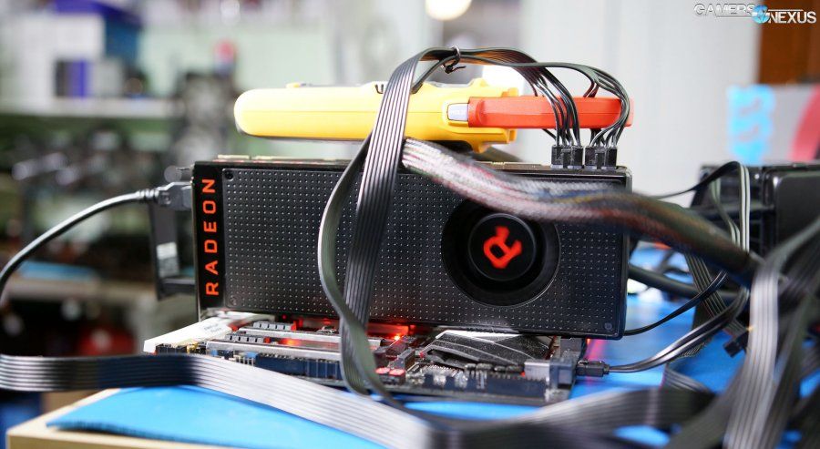 AMD RX Vega 56 Tear-Down & Undervolting / Overclocking Livestream