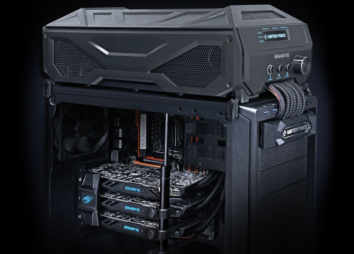 Gigabyte Launches 3000 3 Way Gpu Suite With Liquid