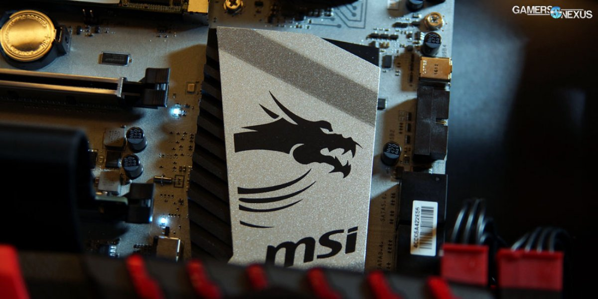 "MSI X99A Titanium Motherboard & New ""One Click VR"" Feature Explained"