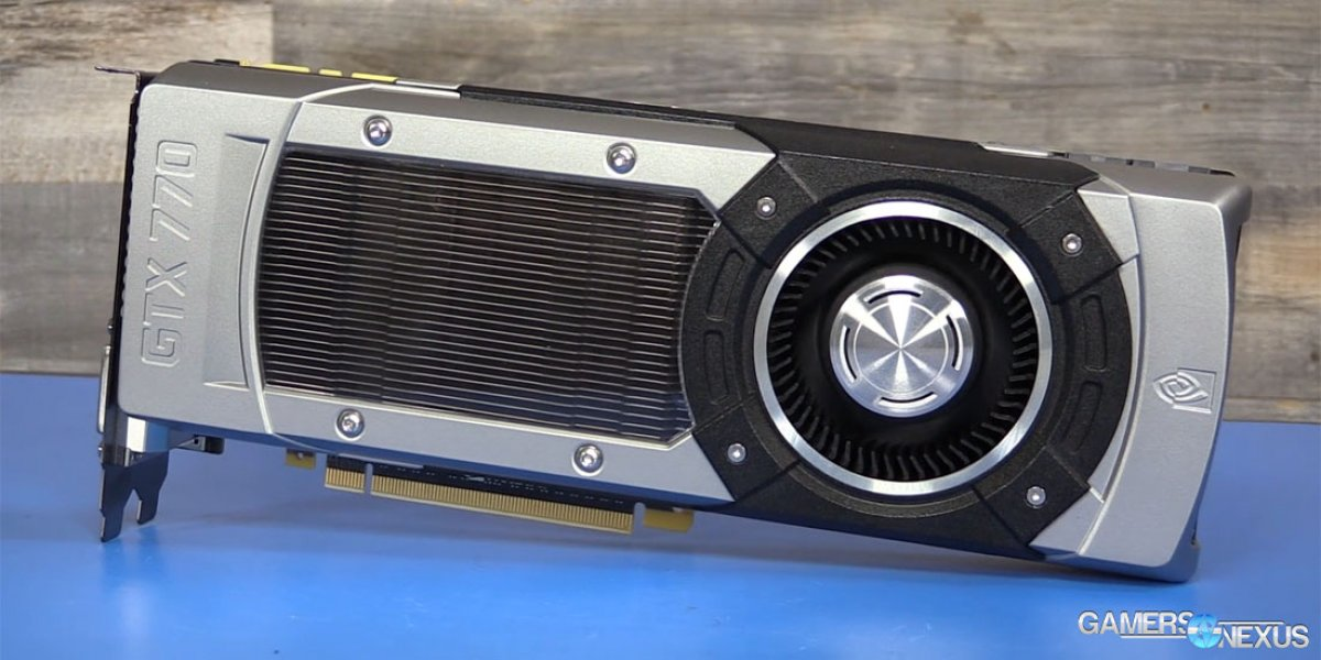 GTX 770 in 2016: Benchmark vs  GTX 1070, 1060, RX 480, More