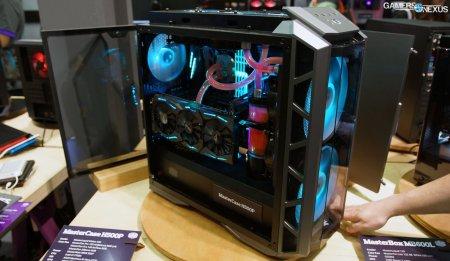 Cooler Master H500p Amp Cosmos C700p Case Hands On