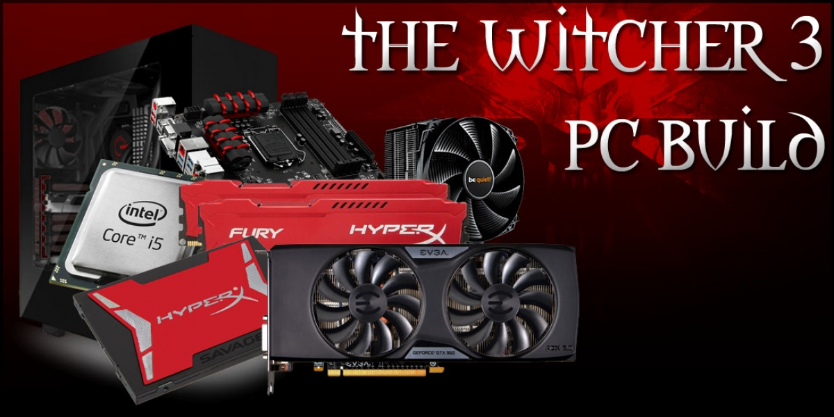 Mid-Range Gaming PC Build for The Witcher 3 at $1044 - May, 2015
