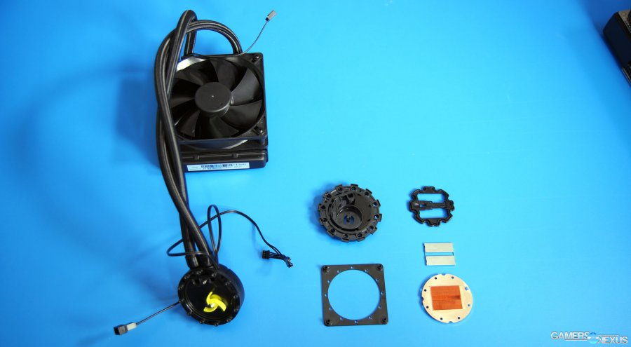 Taking Apart an EVGA Hybrid Liquid Cooler