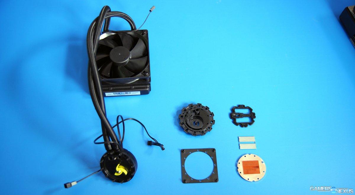 Taking Apart an EVGA Hybrid Liquid Cooler | GamersNexus