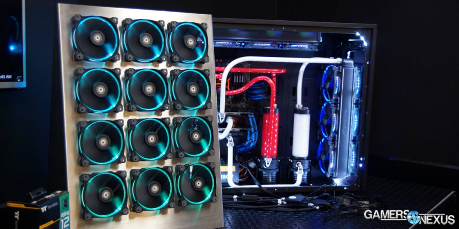 Hands-On with Thermaltake View 27 & Updated Riing RGB Fans