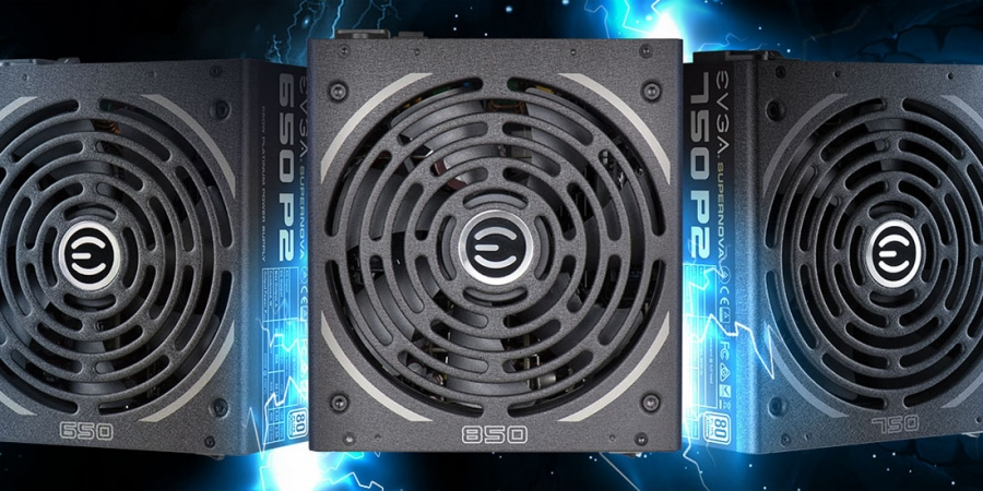 EVGA Supernova P2 PSU Now in New Capacities