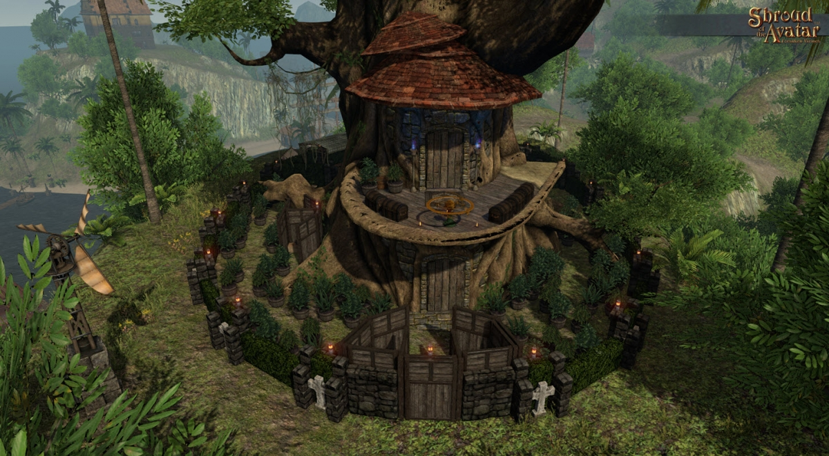 Shroud of the Avatar's Impressive Stability & Beautification - Richard Garriott Interview
