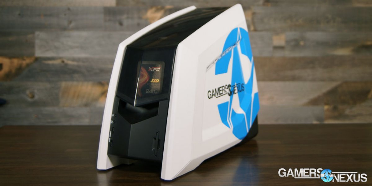 Revolt 2 SFF Gaming PC Review: Thermal & FPS Benchmarks