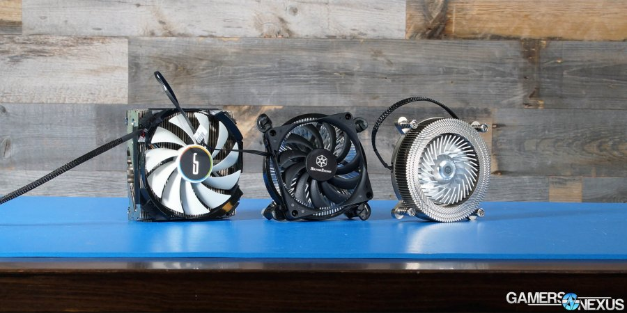 Thermaltake Engine 27 Review vs. Cryorig C7 & NT08-115XP