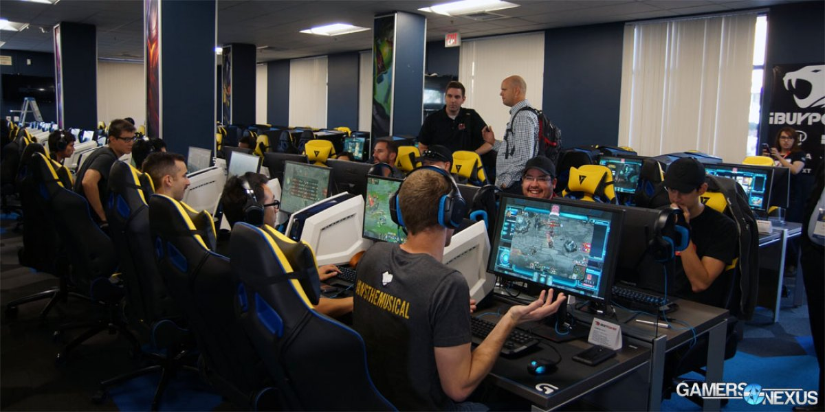 UCI eSports Arena Opening – Collegiate eSports Facilitated by Manufacturers