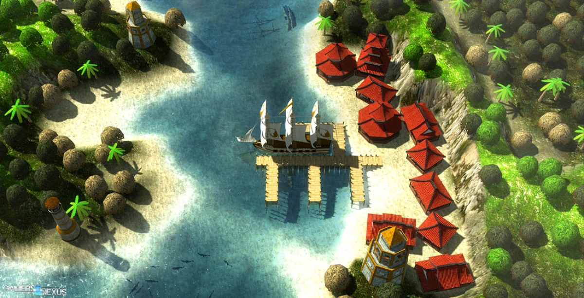 Freeform Naval Exploration Game 'Windward' Offers Trade, Combat, & City Building Gameplay