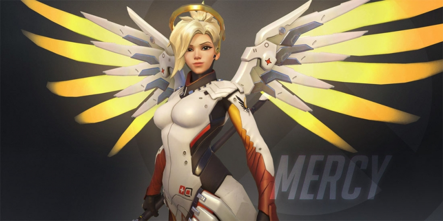 """Mercy"" Overwatch Gameplay Video Released by Blizzard, Accompanies Zenyatta"