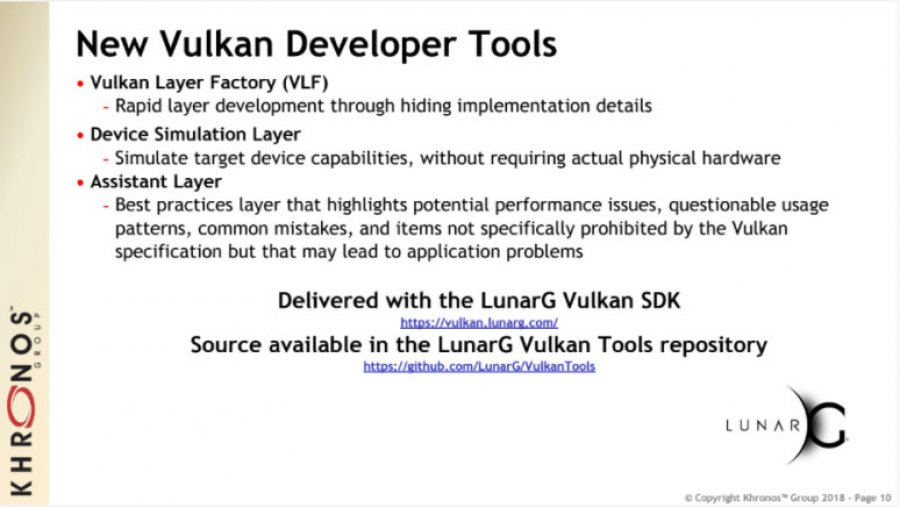 Vulkan 1.1 Major Release: Multi-GPU & The Future of Vulkan