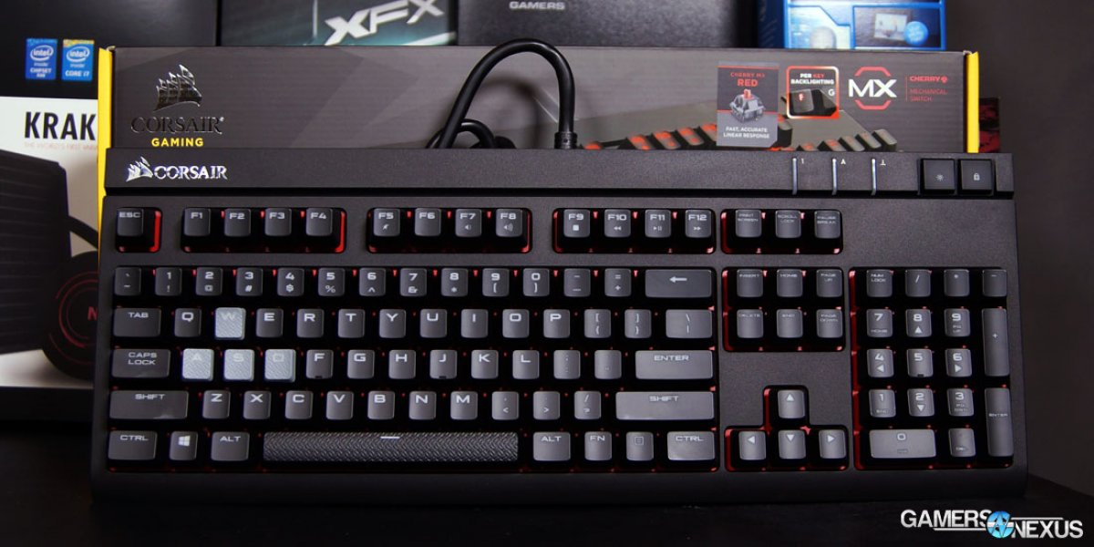 Corsair Strafe Mechanical Gaming Keyboard Review - MX Red