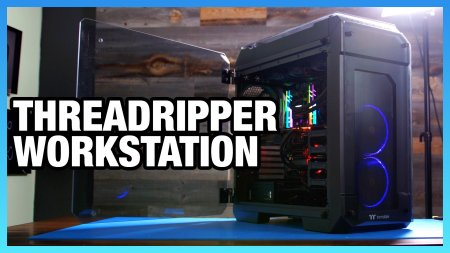 Threadripper 1950X Workstation PC Build for Rendering & H264 Encoding