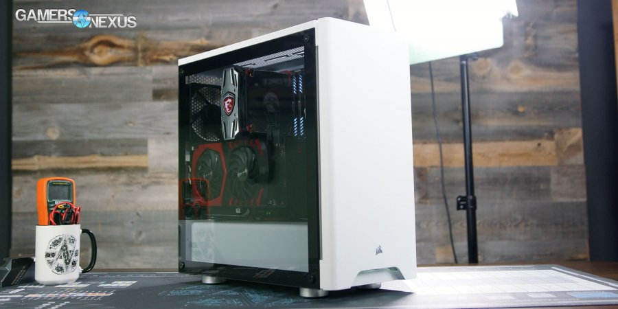 Corsair 275R Case Review: Thermals, Quality, & Noise