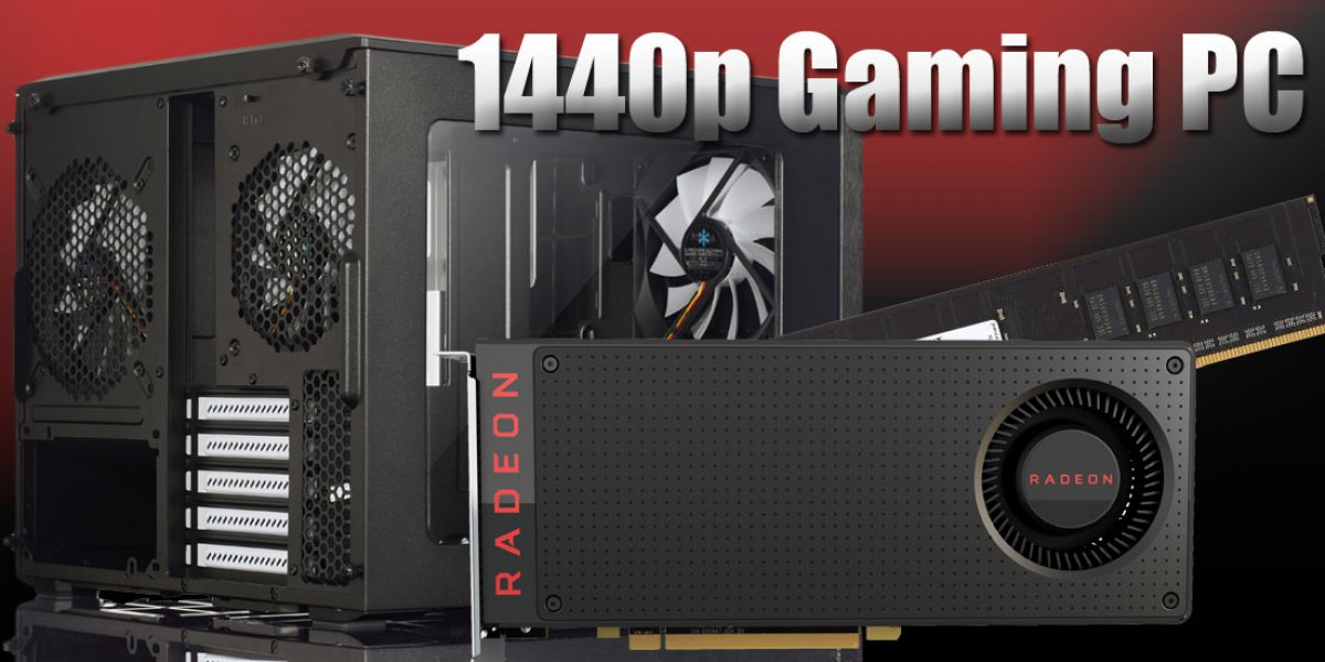 1440p Gaming PC Build with RX 480 for $1100