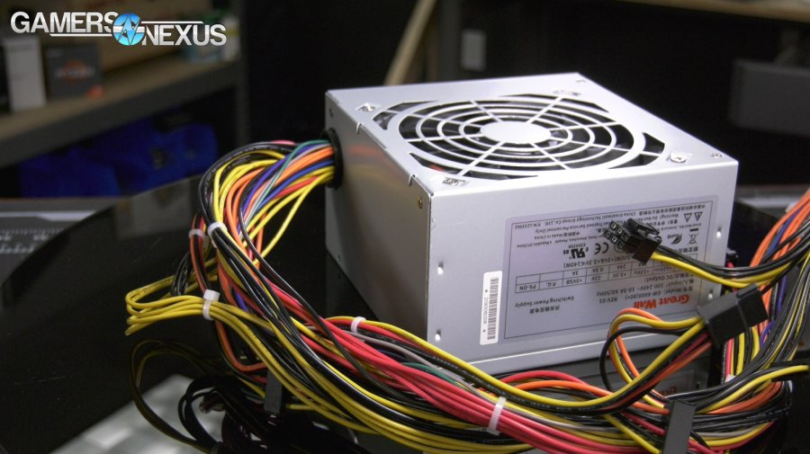 Walmart Great Wall Power Supply Test - Overpowered DTW PSU