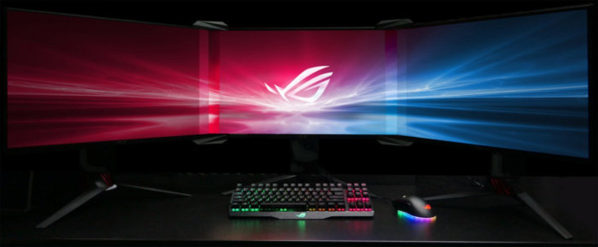 ASUS Announces Bezel-Free Lens Kit to Join Multiple Monitors | CES 2018