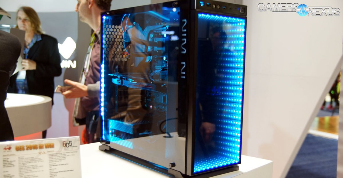 In-Win\'s Artful Cases: Infinitely Mirrored 805, H-Frame, & Robotic H ...