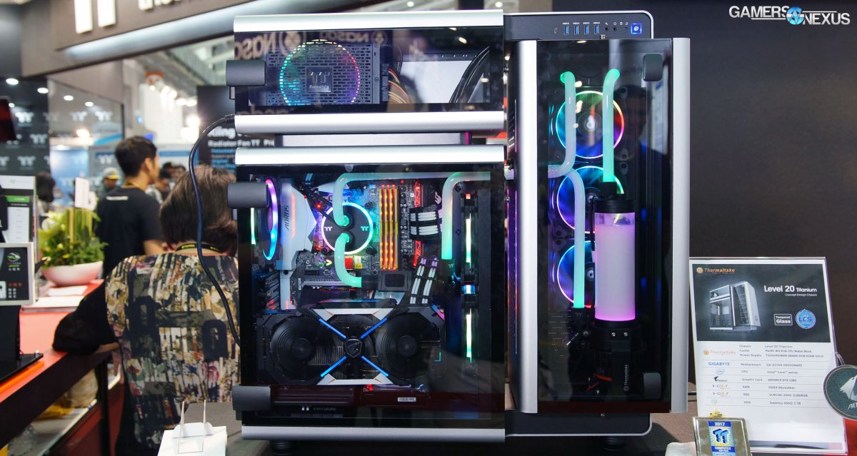 Thermaltake's Level 20, Core G21, & View 21 Budget Tempered Glass Cases