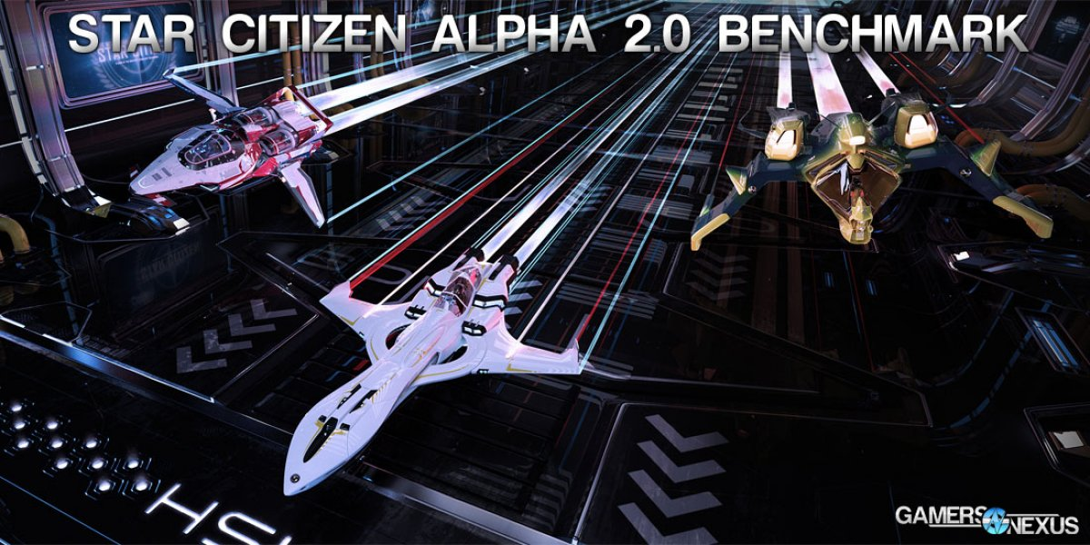 Star Citizen Alpha 2.0 Graphics Card Benchmark - ArcCorp, Free Flight, & Racing