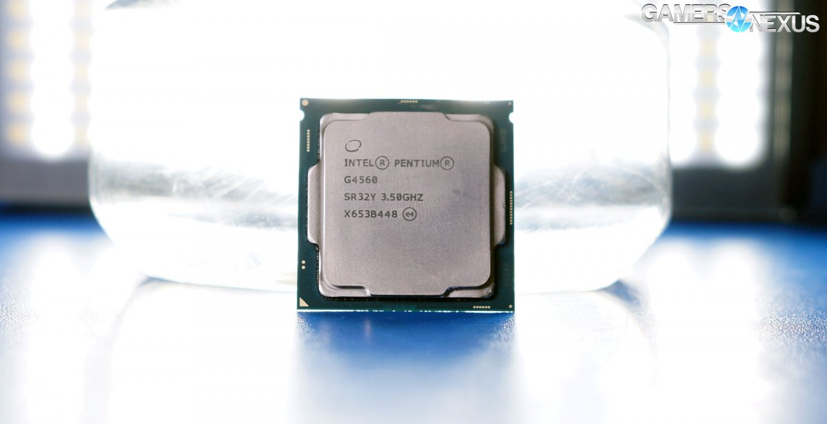 Testing When the Intel G4560 Bottlenecks GPUs: GTX 1050 Ti