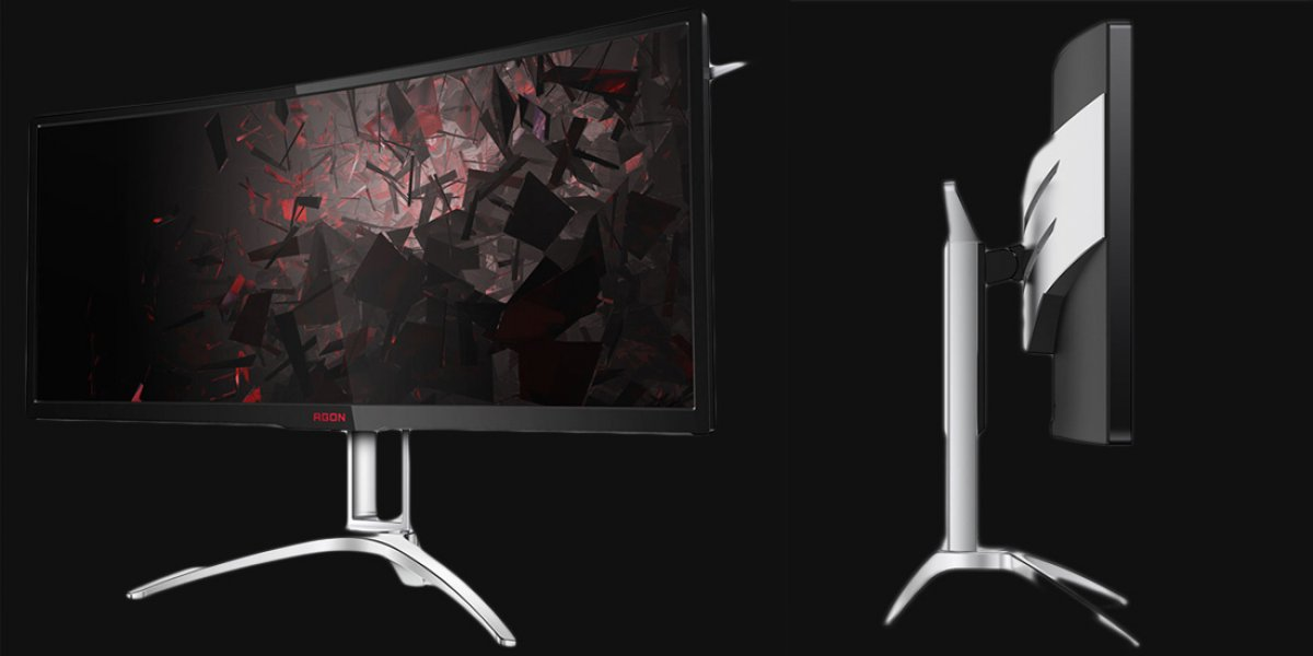 New 200Hz Refresh AOC 35-inch Ultra-Wide Announced with FreeSync
