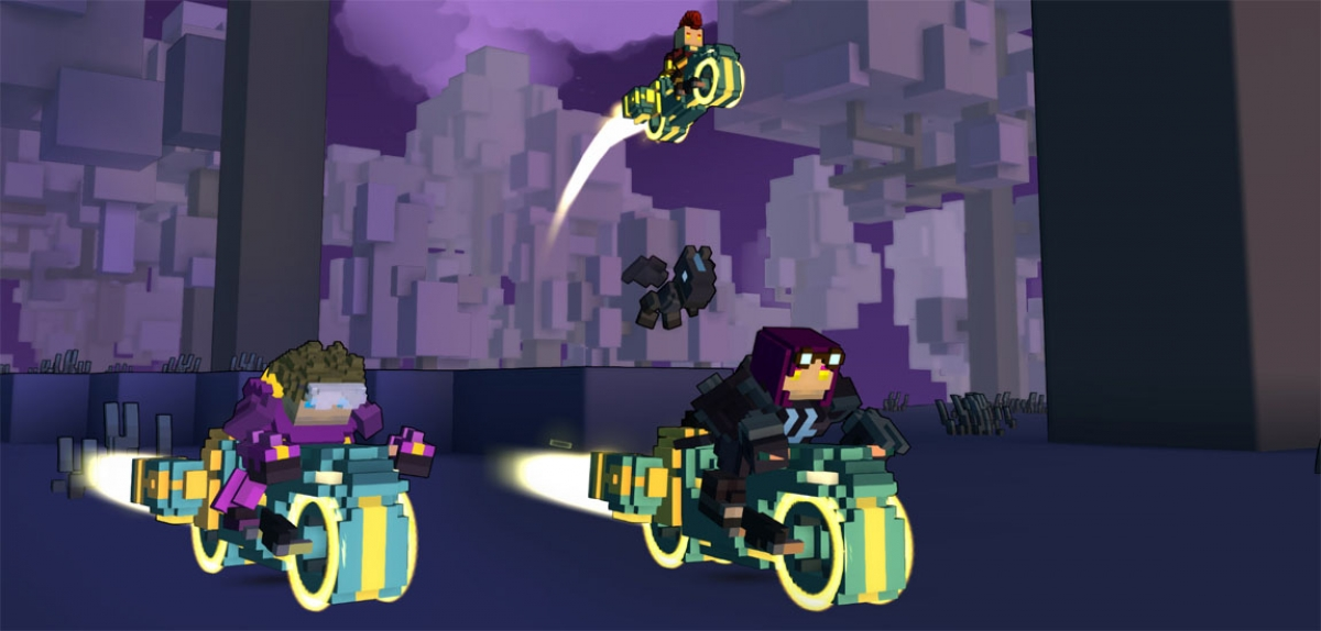 PAX East Trove Preview - Voxel MMO in Sea & Sky