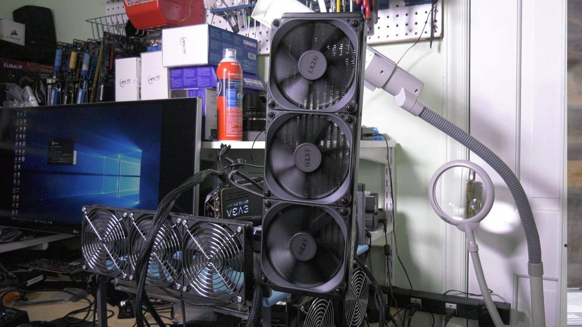 NZXT X72 360mm Cooler Review vs  H150i Pro, Fractal S36, EVGA 280