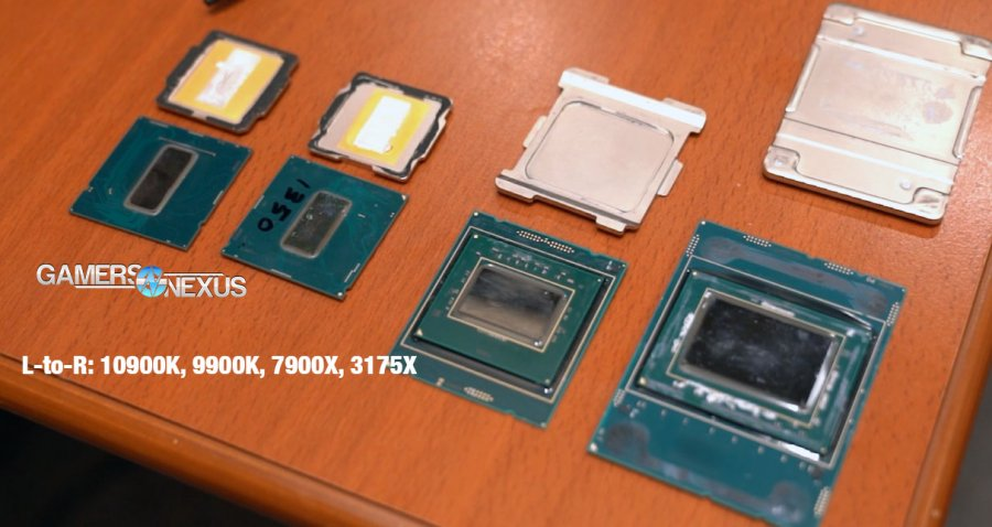 "Intel 10th ""Gen"" CPU Specs, Core i9-10900K Delid, OC Support, & Delid"