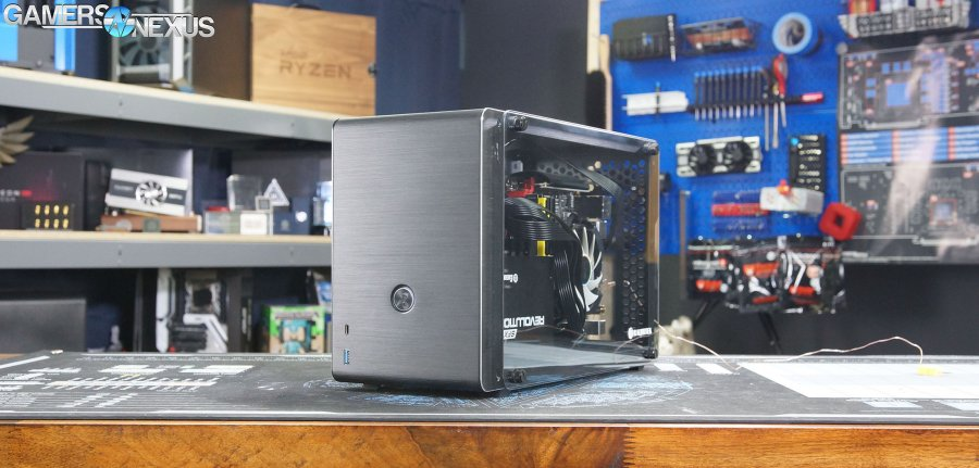 Raijintek Ophion Case Review: Mini-ITX Hotbox with Potential