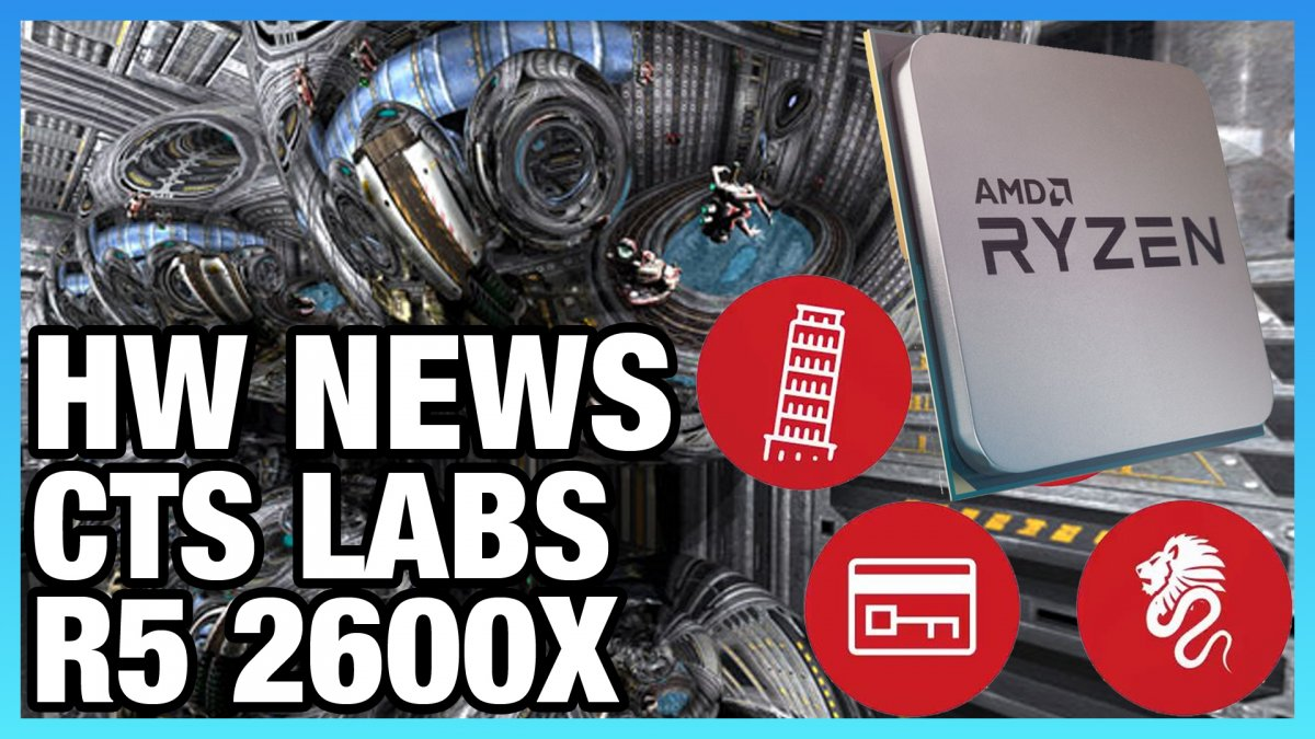 HW News: CTS Labs Update, R5 2600X Specs, Dead Wafers, & More