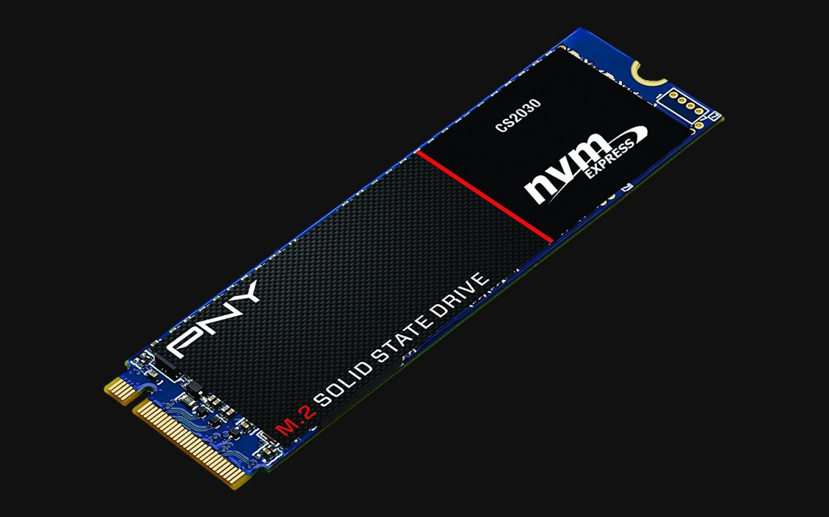 PNY Announces Its CS2030 M.2 NVMe SSD with Phison Controller