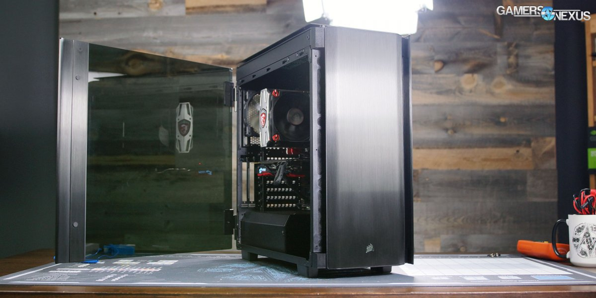 Corsair 500D Case Review: Thermals, Noise, and Build Quality