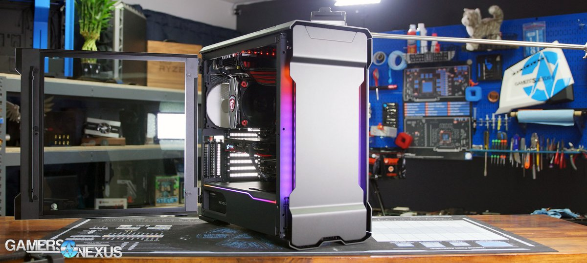 Phanteks Evolv X Case Review: Dual-System, Thermals, & Quality