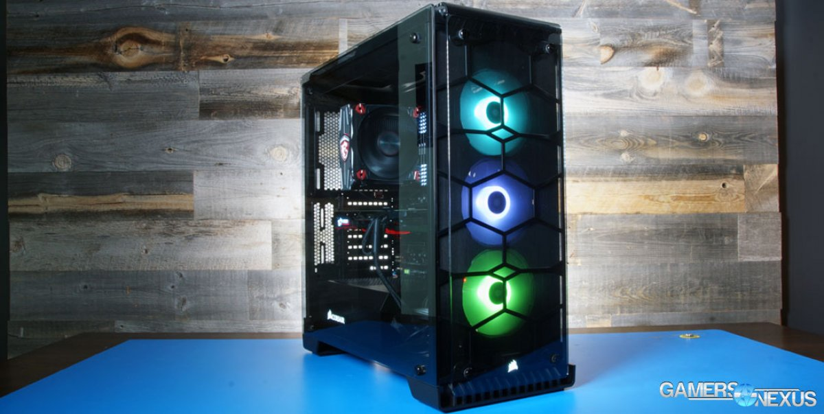 Corsair 570X RGB & 270R Case Review – Noise & Thermal Benchmarks